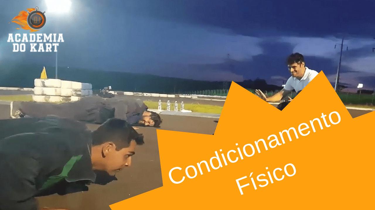 Condicionamento Físico no Kart Indoor