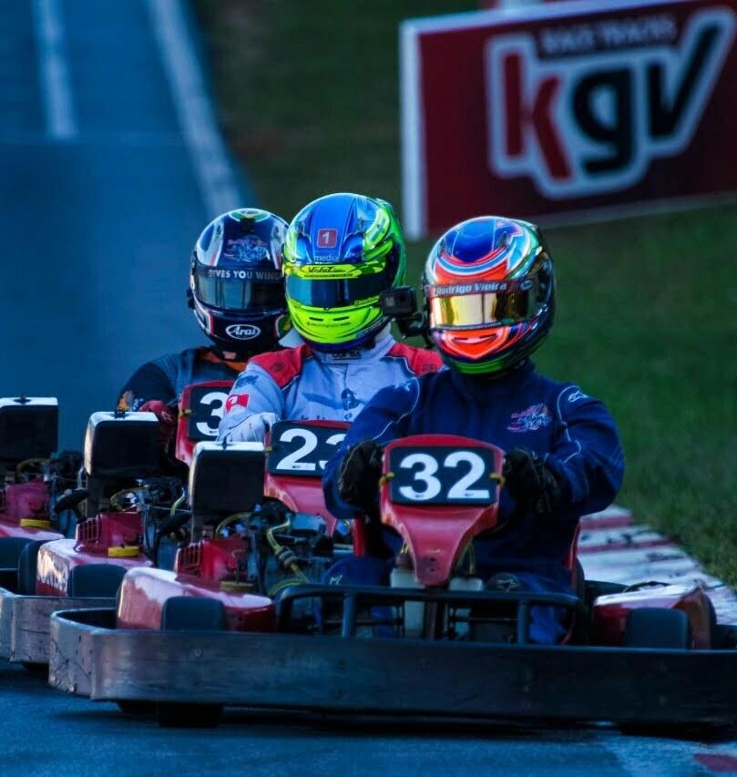 como se tornar piloto de kart