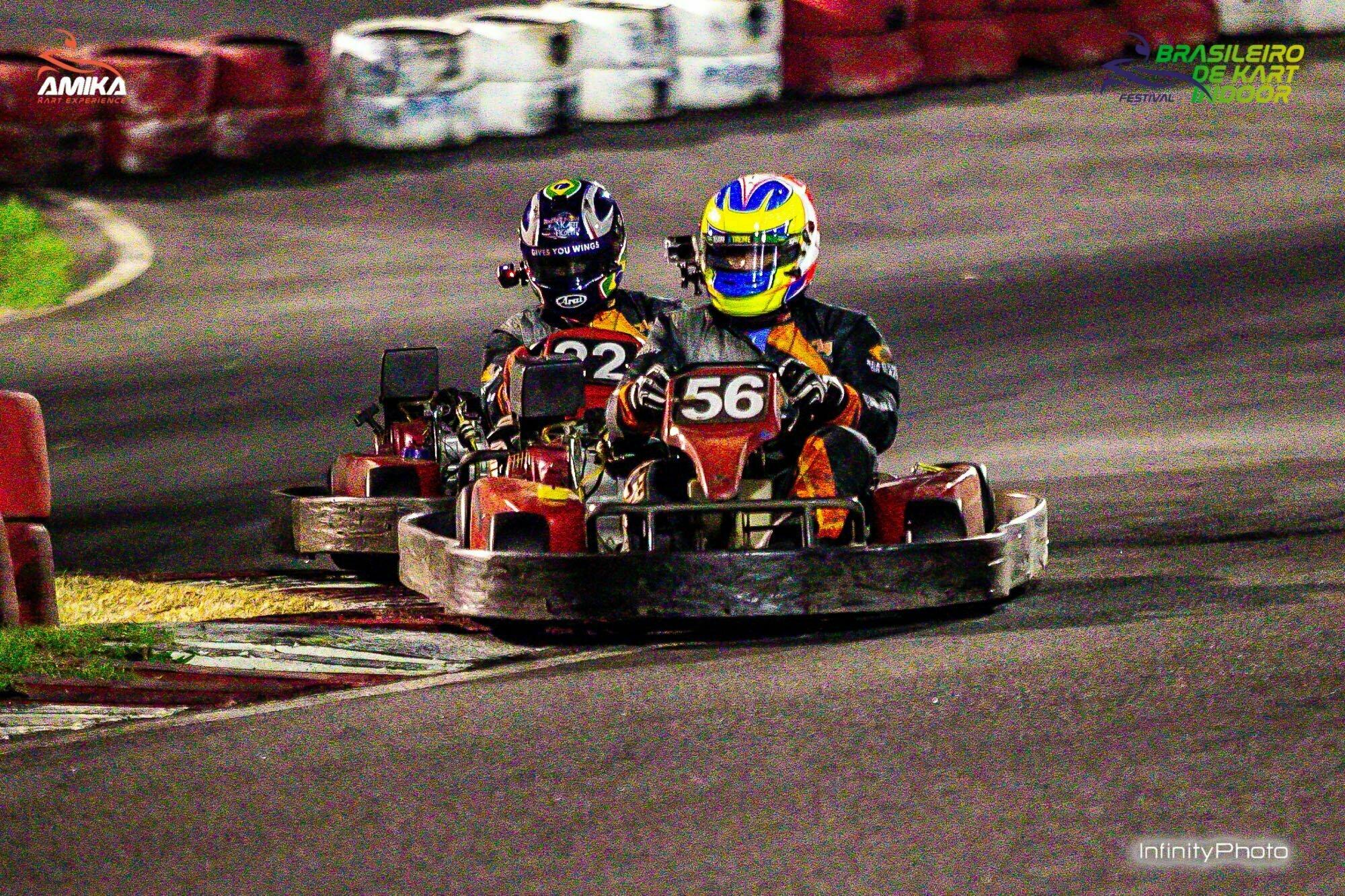 Melhorar corridas de kart