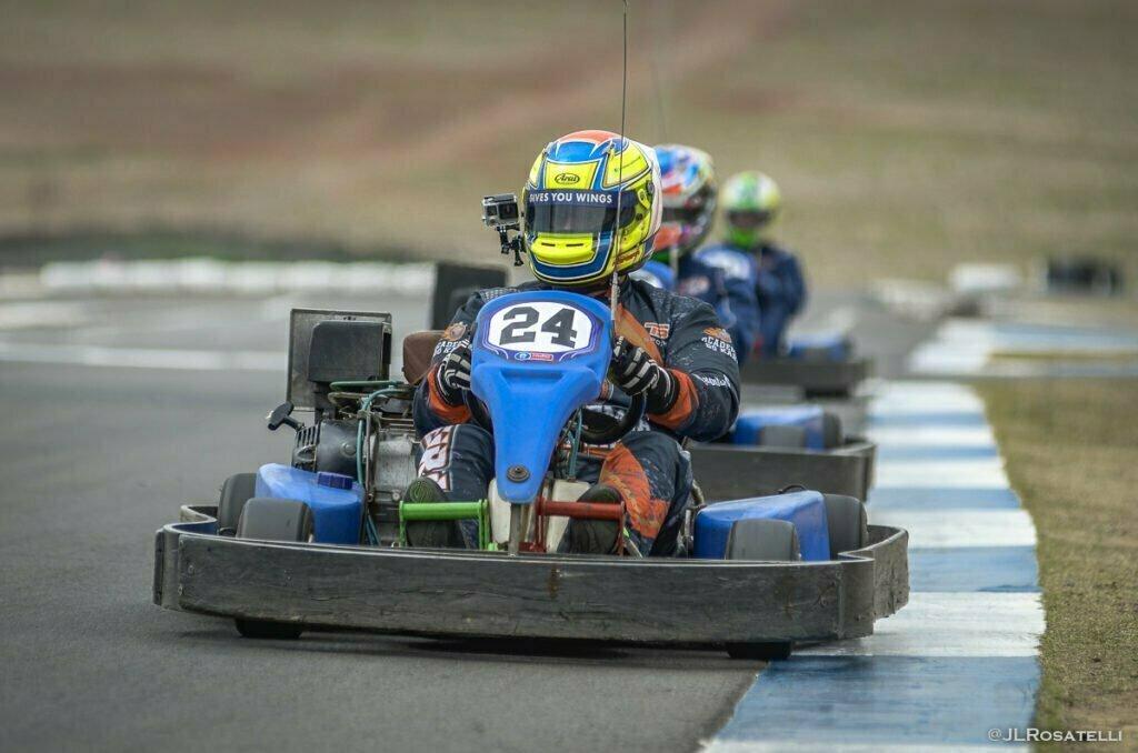 vídeos onboard no kart